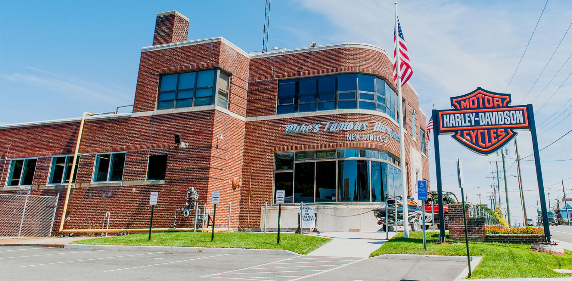Mike's Famous Harley-Davidson building